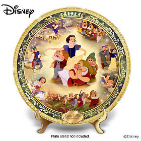 Disney Snow White And The Seven Dwarfs Collector Plate