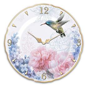 Enchanted Moments Porcelain Wall Clock