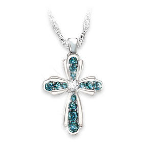 Heaven's Blessing Diamond Pendant Necklace