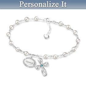 Jesus Is Love Personalized Bracelet