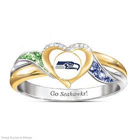 Seattle Seahawks Pride Ring