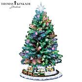 Thomas Kinkade Holiday Sparkle Tabletop Tree
