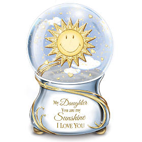 My Daughter, You Are My Sunshine Glitter Globe