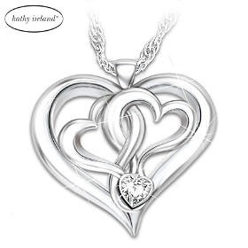 kathy ireland Beautiful Daughter Pendant Necklace