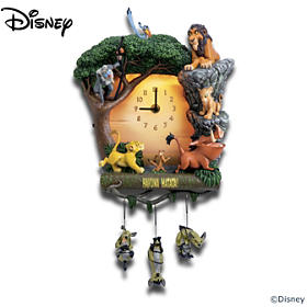 Disney The Lion King Hakuna Matata Wall Clock