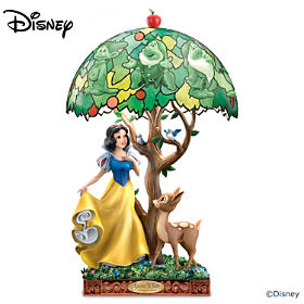 Disney Snow White Fairest Of Them All Lamp