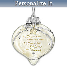Home Sweet Home Personalized Ornament
