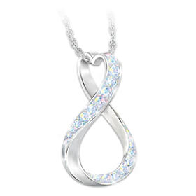 Sisters Forever Pendant Necklace