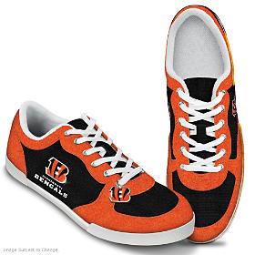 Cincinnati Bengals #1 Fan Women's Shoes