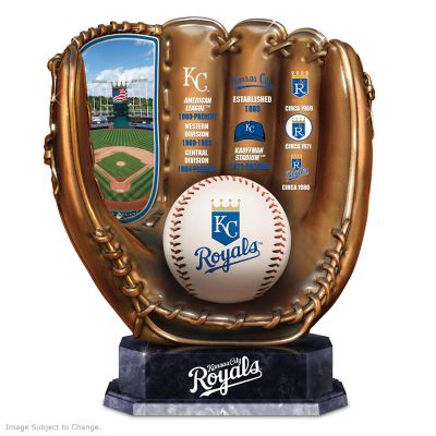 Kansas City Royals Tribute Cold-Cast Bronze Glove by