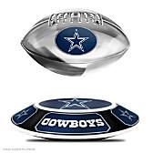 Dallas Cowboys Levitating Football Sculpture