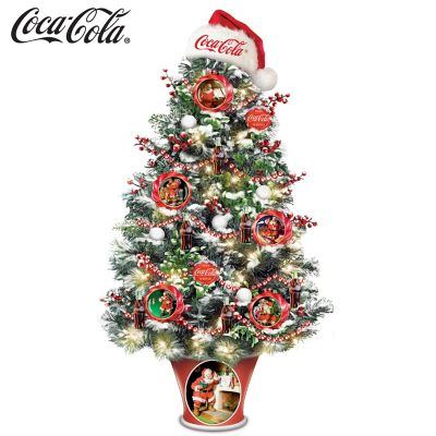 COCA-COLA The Merriest Season Of All Tabletop Tree by