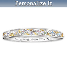 Love Grows Here Personalized Bracelet