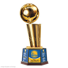 Golden State Warriors 2017 NBA Finals Trophy Sculpture