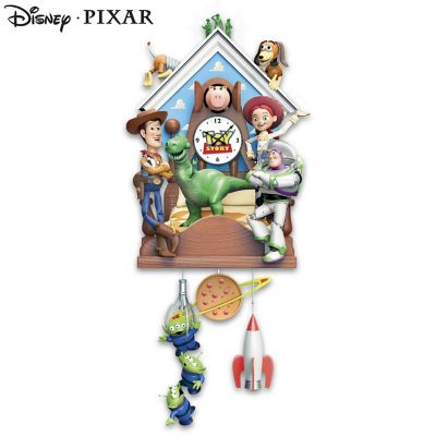 Disney 183 Pixar Toy Story Sculptural Cuckoo Clock