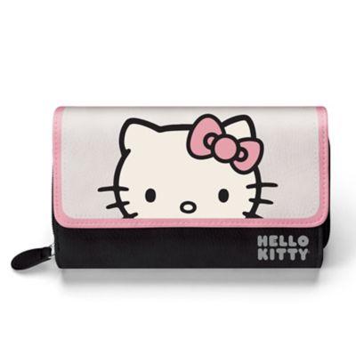 Hello Kitty Women's Tri-Fold Wallet by