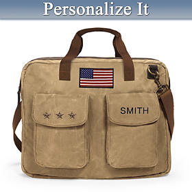 U.S.A. Pride Personalized Tote Bag