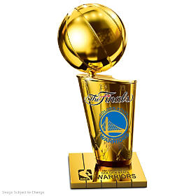 Golden State Warriors 2017 NBA Finals Champions Sculpture