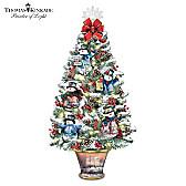 Thomas Kinkade Luminous Joy Tabletop Tree