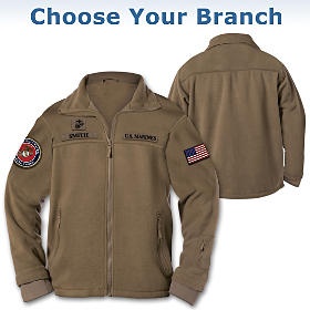 U.S. Military Personalized Men's Jacket