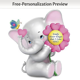 Never Forget That I Love You Personalized Figurine