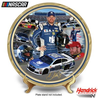 Dale Earnhardt Jr. Heirloom Porcelain Collector Plate by