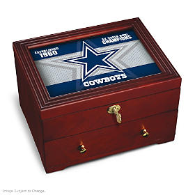 Dallas Cowboys Keepsake Box