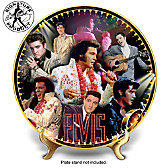 Elvis Presley 40th Anniversary Commemorative Collector Plate