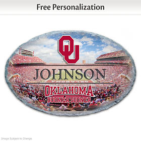 University Of Oklahoma Personalized Welcome Sign