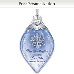 Special As A Snowflake Personalized Ornament