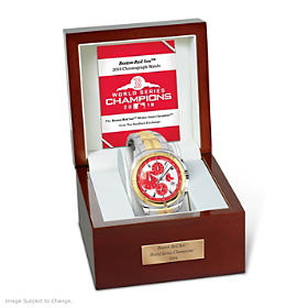 2018 World Series Champions Boston Red Sox Men's Watch