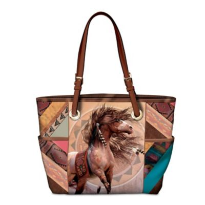 Spirit Of The Painted Pony Tote Bag by