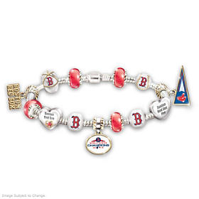 Red Sox 2018 World Series Champions Charm Bracelet