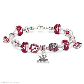Crimson Tide 2017 Football National Champions Charm Bracelet
