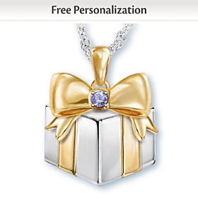Grandma's Greatest Gifts Personalized Pendant Necklace