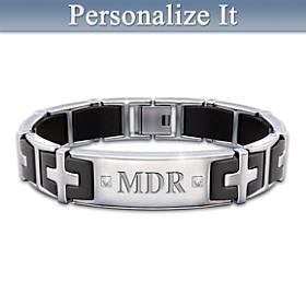 Guiding Faith Personalized Bracelet