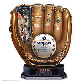 2017 World Series Champions Astros Glove Sculpture