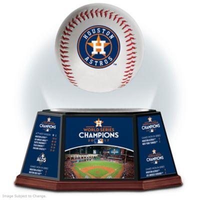 Astros 2017 World Series Champions Levitating Baseball by
