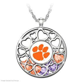 Clemson Tigers Pendant Necklace