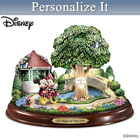Disney Enchantment Of Love Sweetheart Tree Sculpture