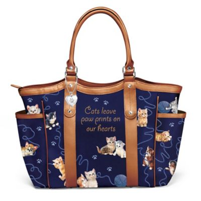Smitten With Kittens Tote Bag by