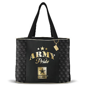 Military Pride Army Tote Bag