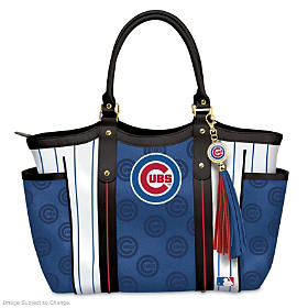 Home Run Cubs! Tote Bag