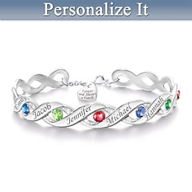 Forever & Always Personalized Bracelet
