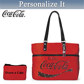 Share A COKE Personalized Tote Bag