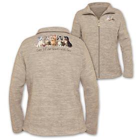 Kitten Love Women's Fleece Jacket