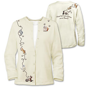 Smitten With Kittens Women's Jacket