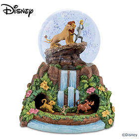 Disney The Lion King Glitter Globe