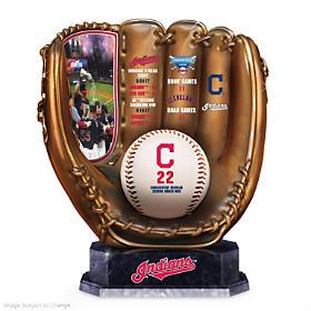Cleveland Indians Glove Sculpture
