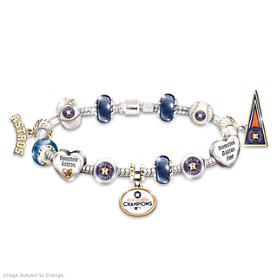 Go Astros! 2017 World Series Champions Bracelet